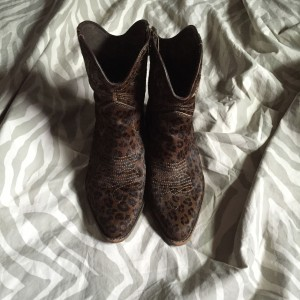 Calf Hair booties