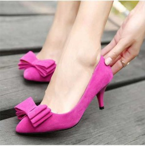lady-like pink pump