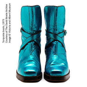 David Bowie boots 1973