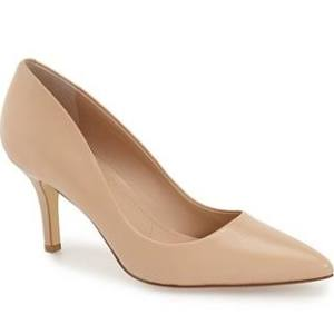 spring shoe - classic nude pump