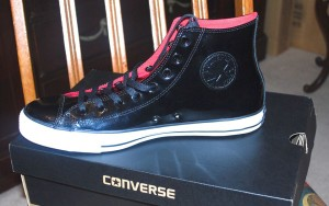Converse Men's Black Patent