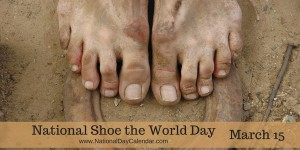 shoe the world day
